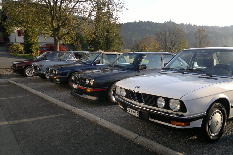BMW Familie vorne